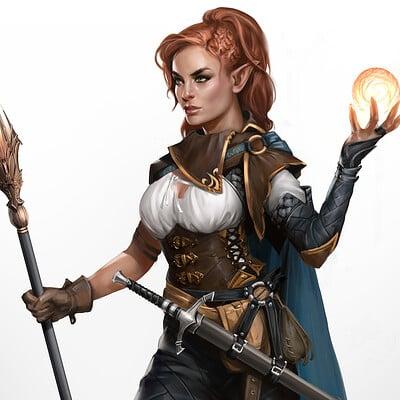 Aimee lynette fire elf finish full body jpg