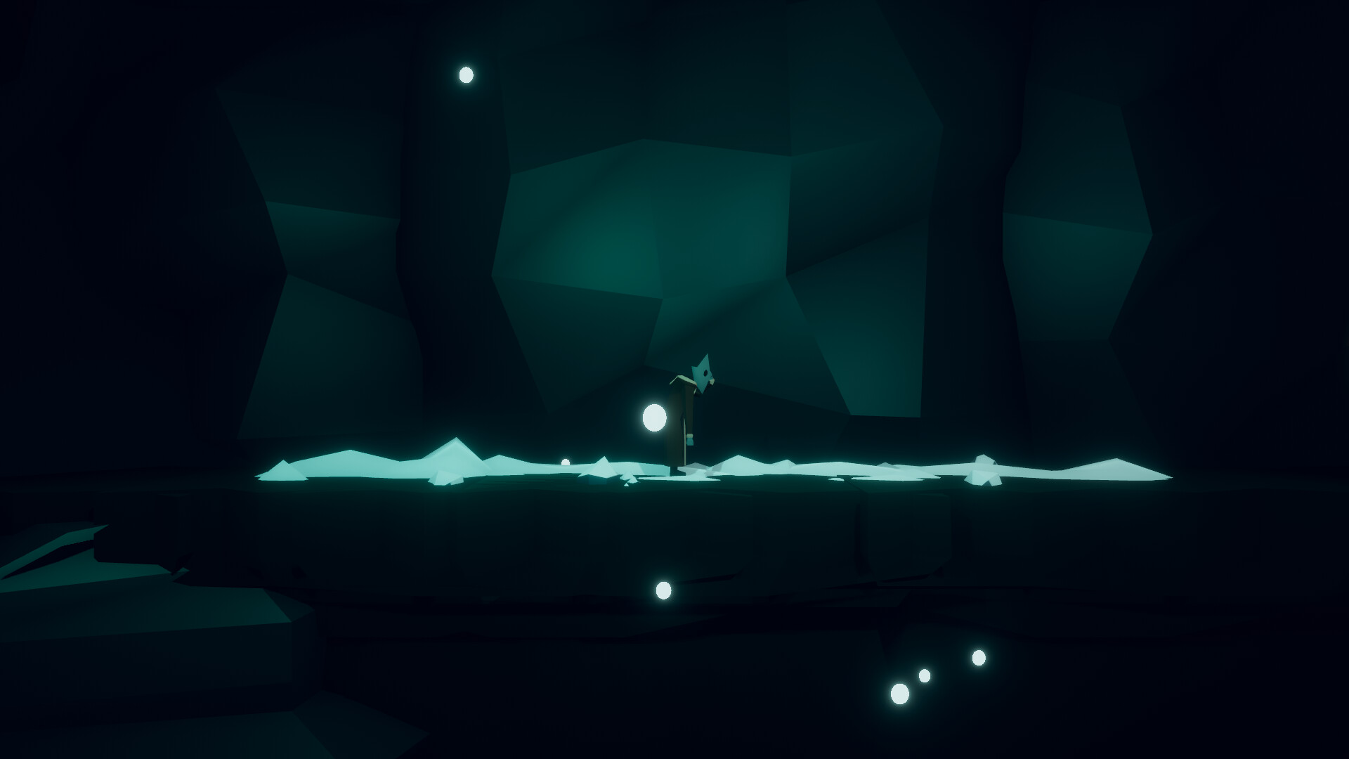 Nomad after losing Lantern and falling into the cave. Awesome animations from Mitch Vittoe