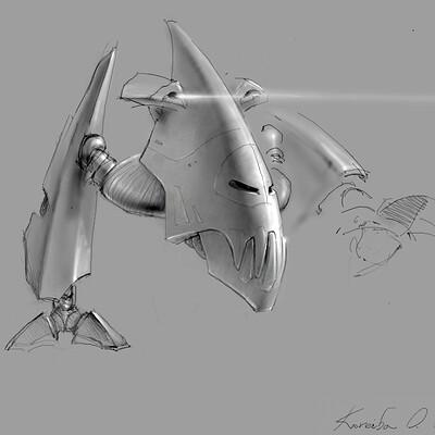 Oleg koreyba oleg koreyba piranha 1 sketch