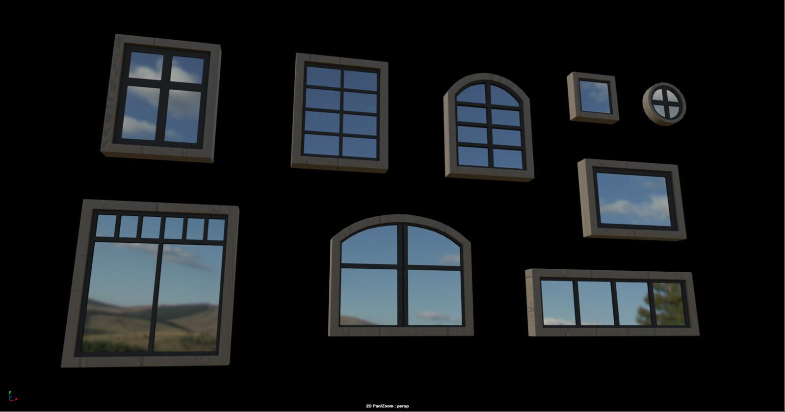 All window options