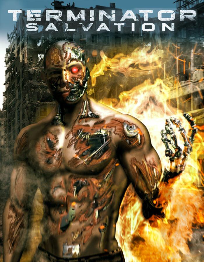 Balam Kike Fan Art Terminator