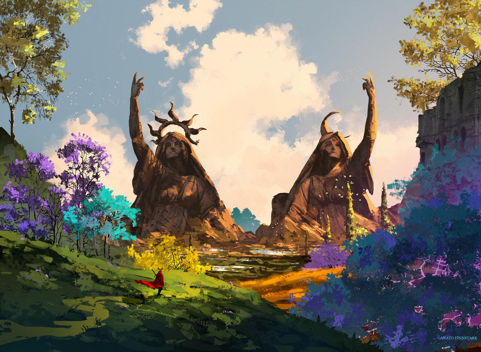 Anato finnstark the king s journey sun and moon by anatofinnstark dd39wjm fullview