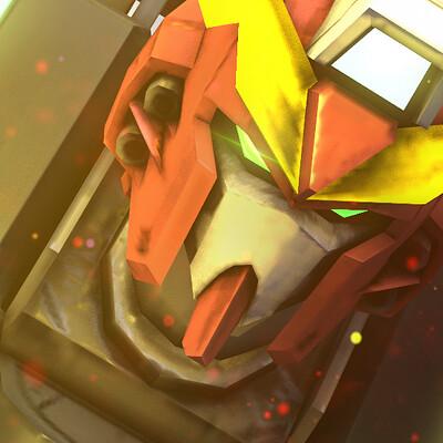 Film bionicx gundam red