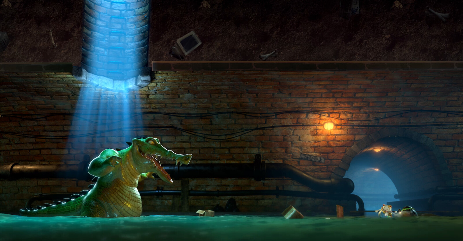 Character & Environment Lighting   Compositing