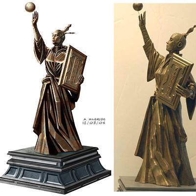 Aaron mcbride cjh sc 133 statue detail