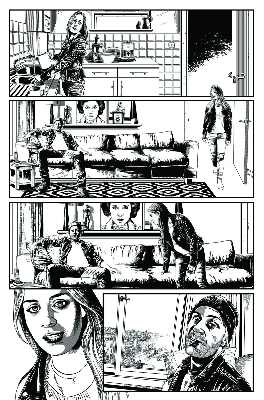 Indie Comic strip page 1