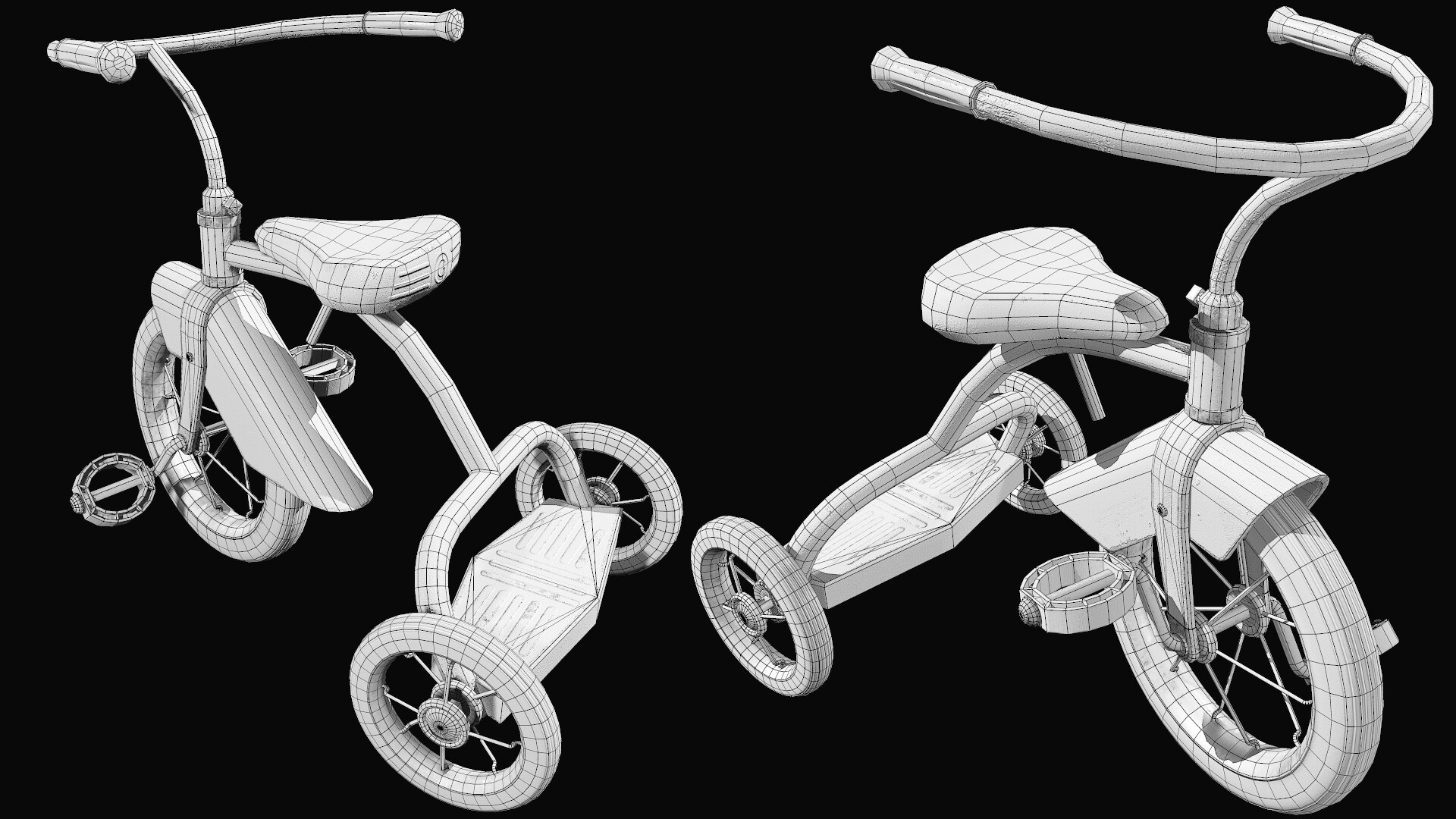 Wayne dalton tricycle wireframe