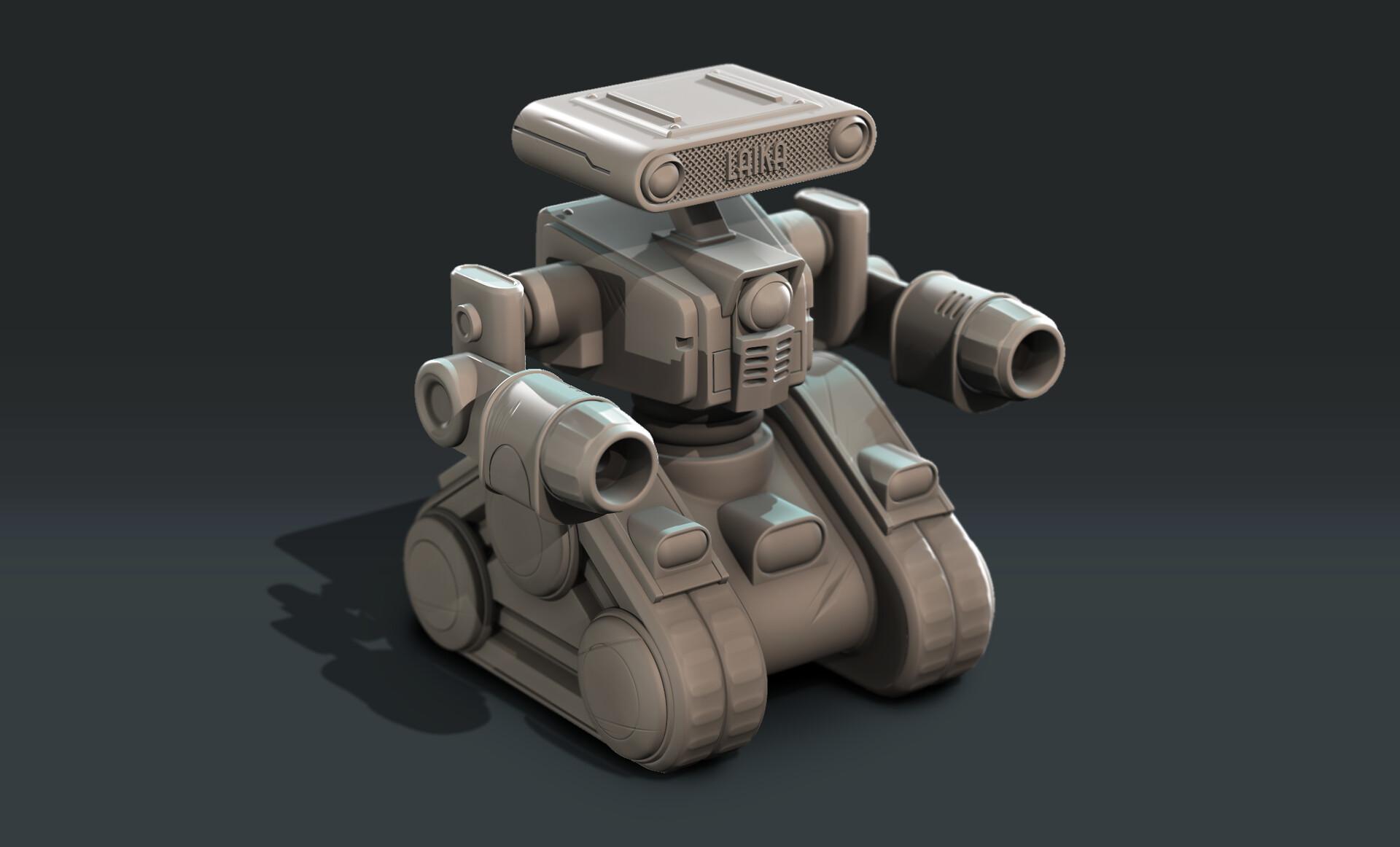 Oscar rickett robotrender