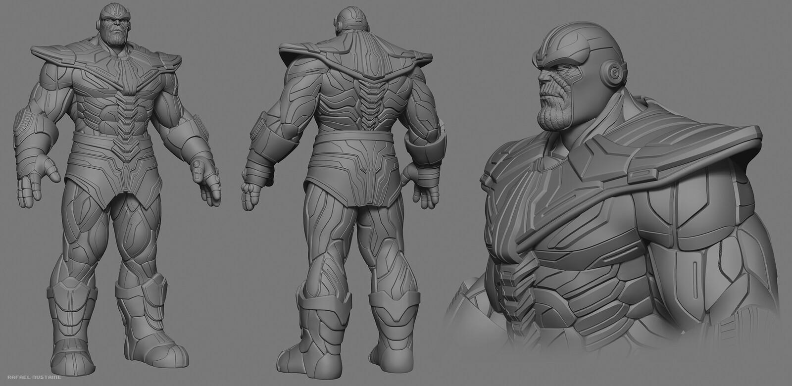 Thanos Armor - Zbrush