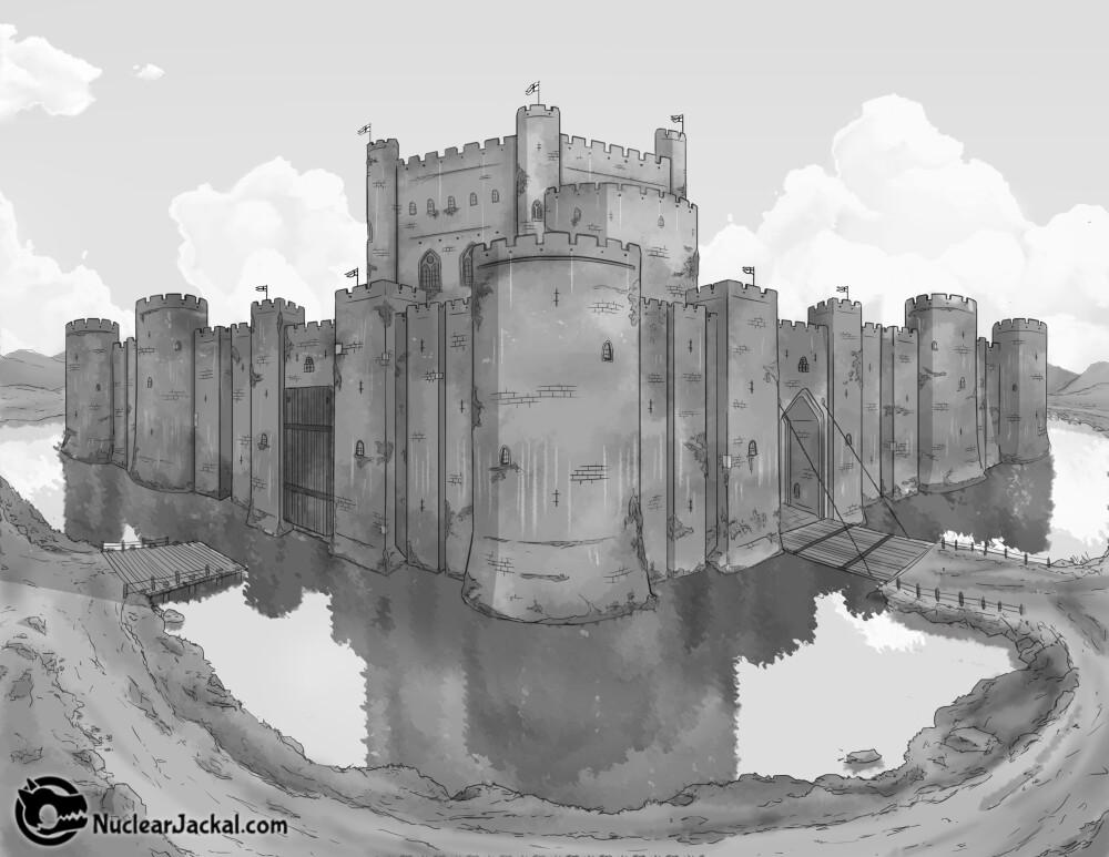 Nuclear jackal castle