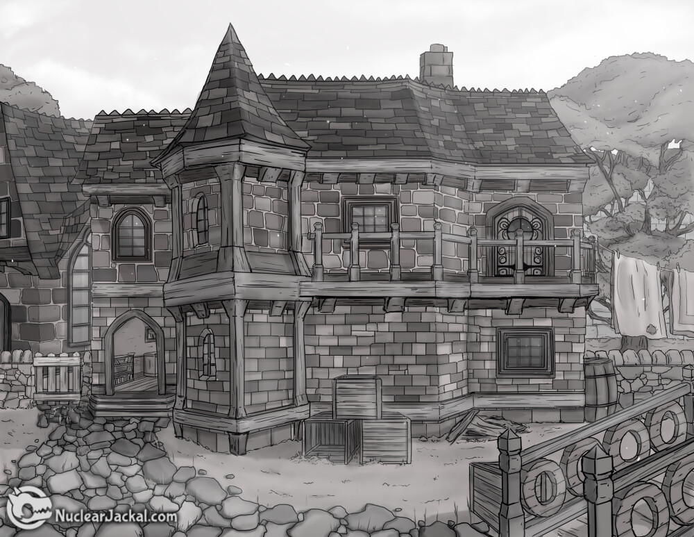 Medieval Fantasy Townhouse