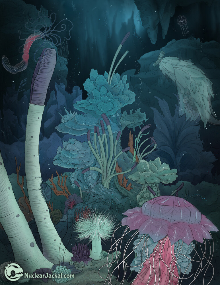 Nuclear jackal underwater