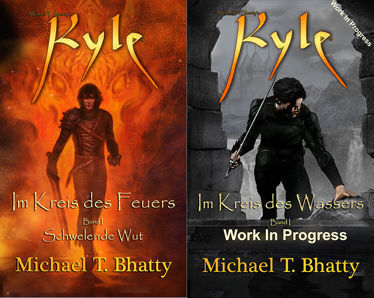 KYLE 2 | The cover of book I and the upcoming book II.