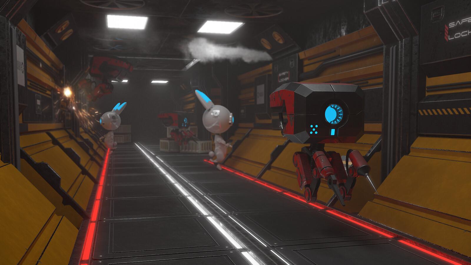 Spaceship Work Station