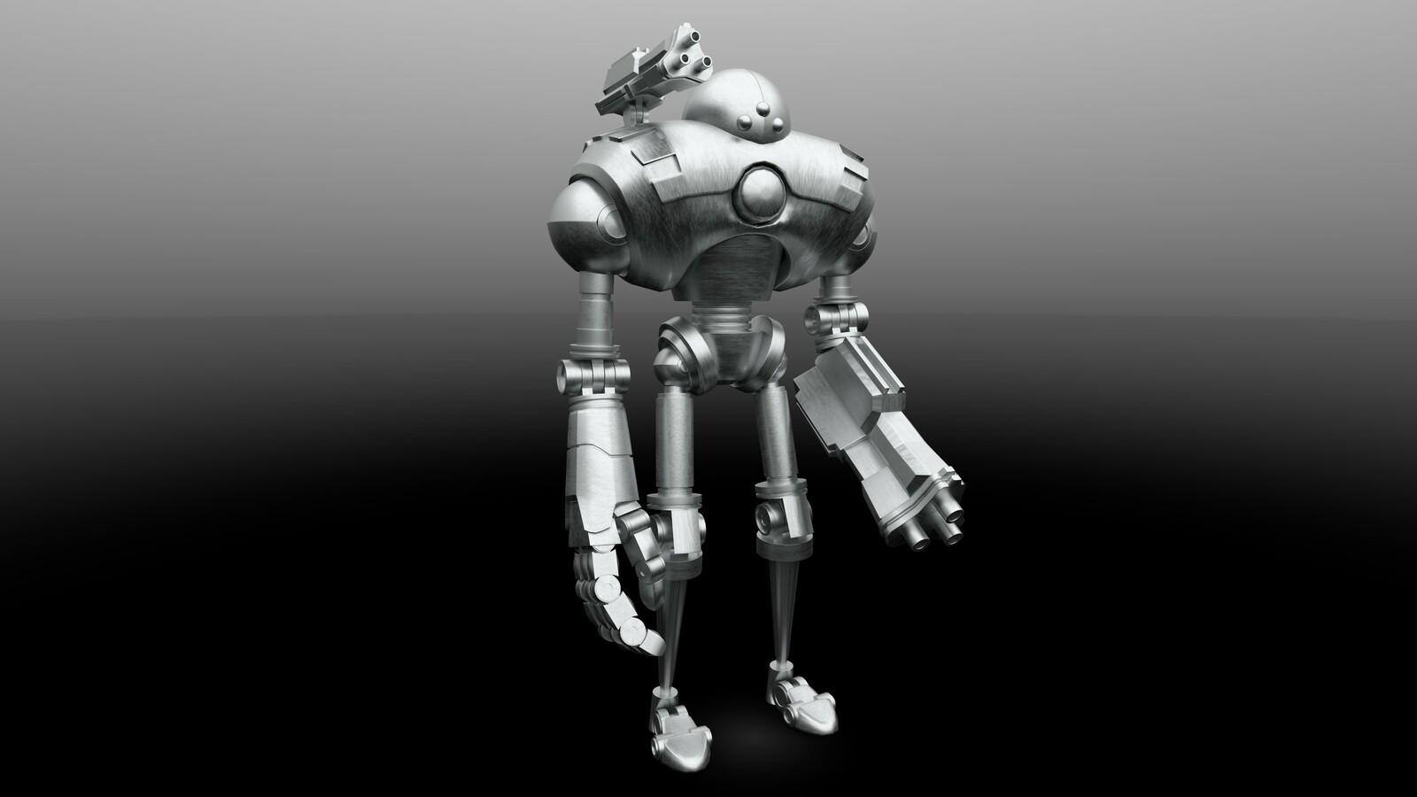 Robot Boss Character