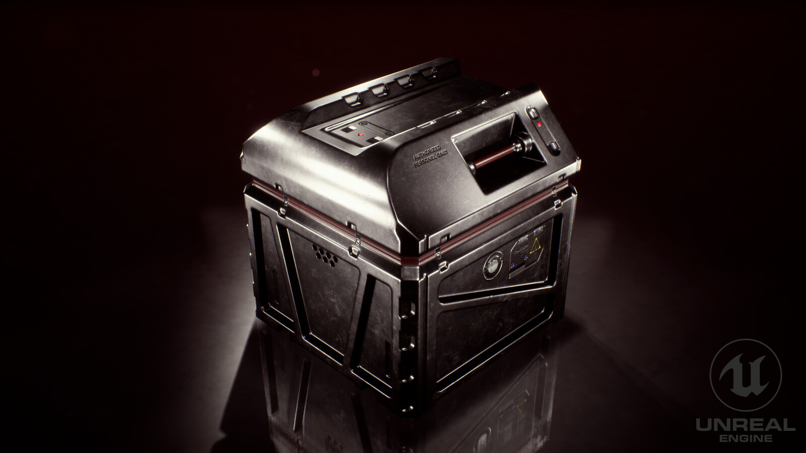 Science Fiction Box - Hard Surface