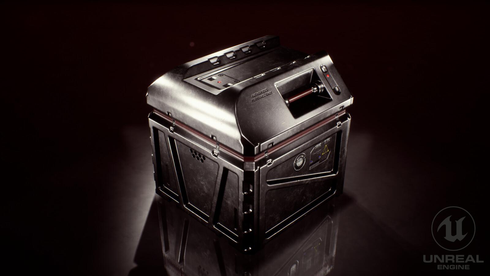 Science Fiction Box - Hard Surface