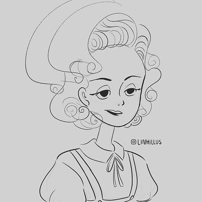 Amelia's sketch