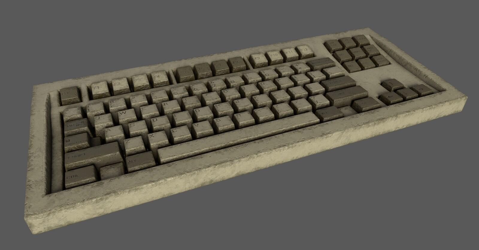Keyboard (Office Scene)