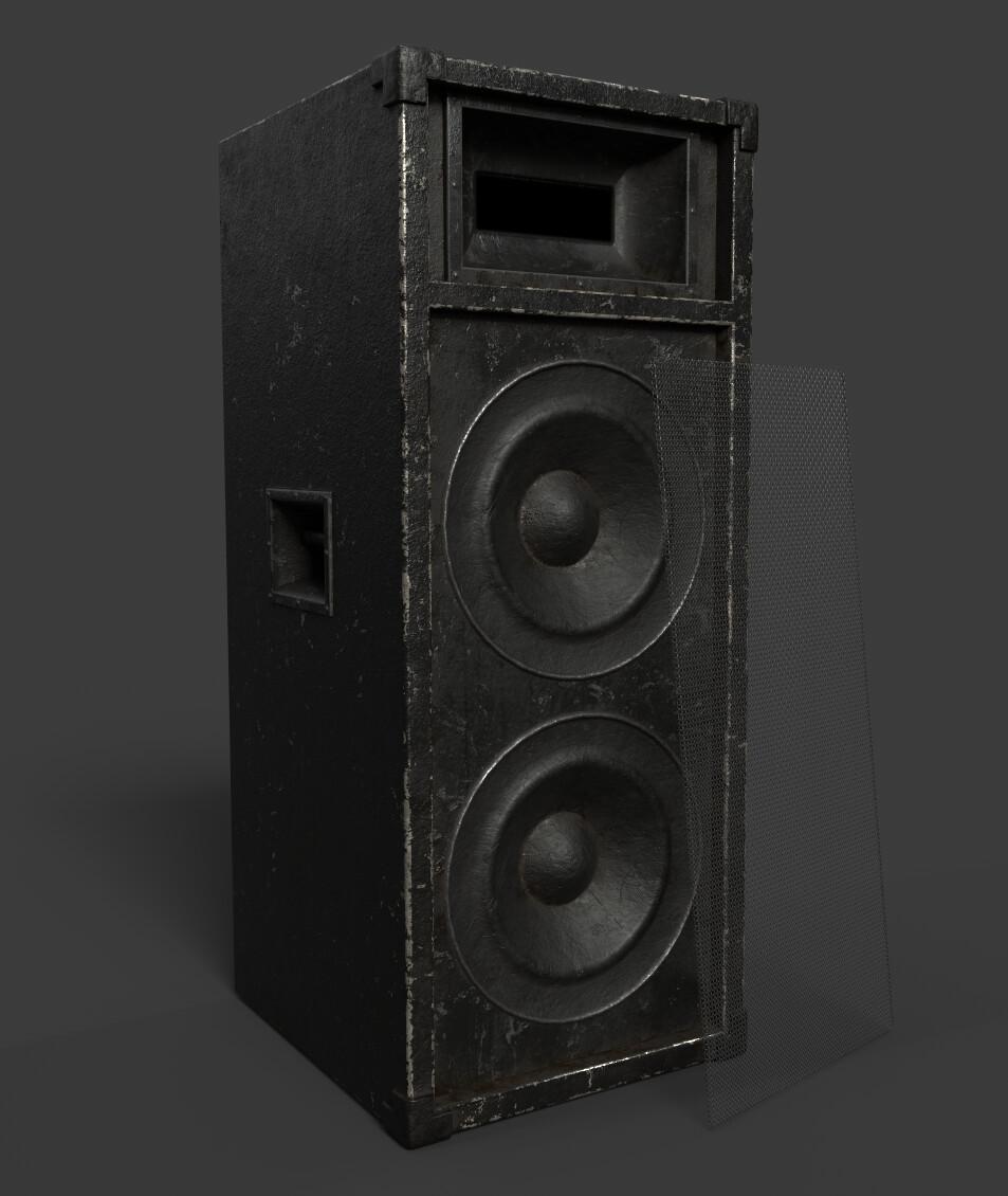 Speaker (Living Room Scene)
