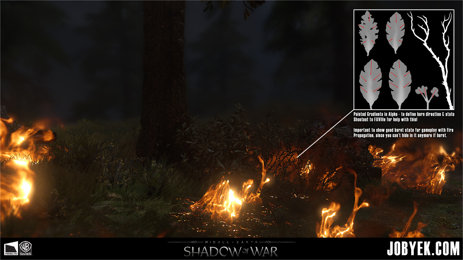 Burning HideShrub setup