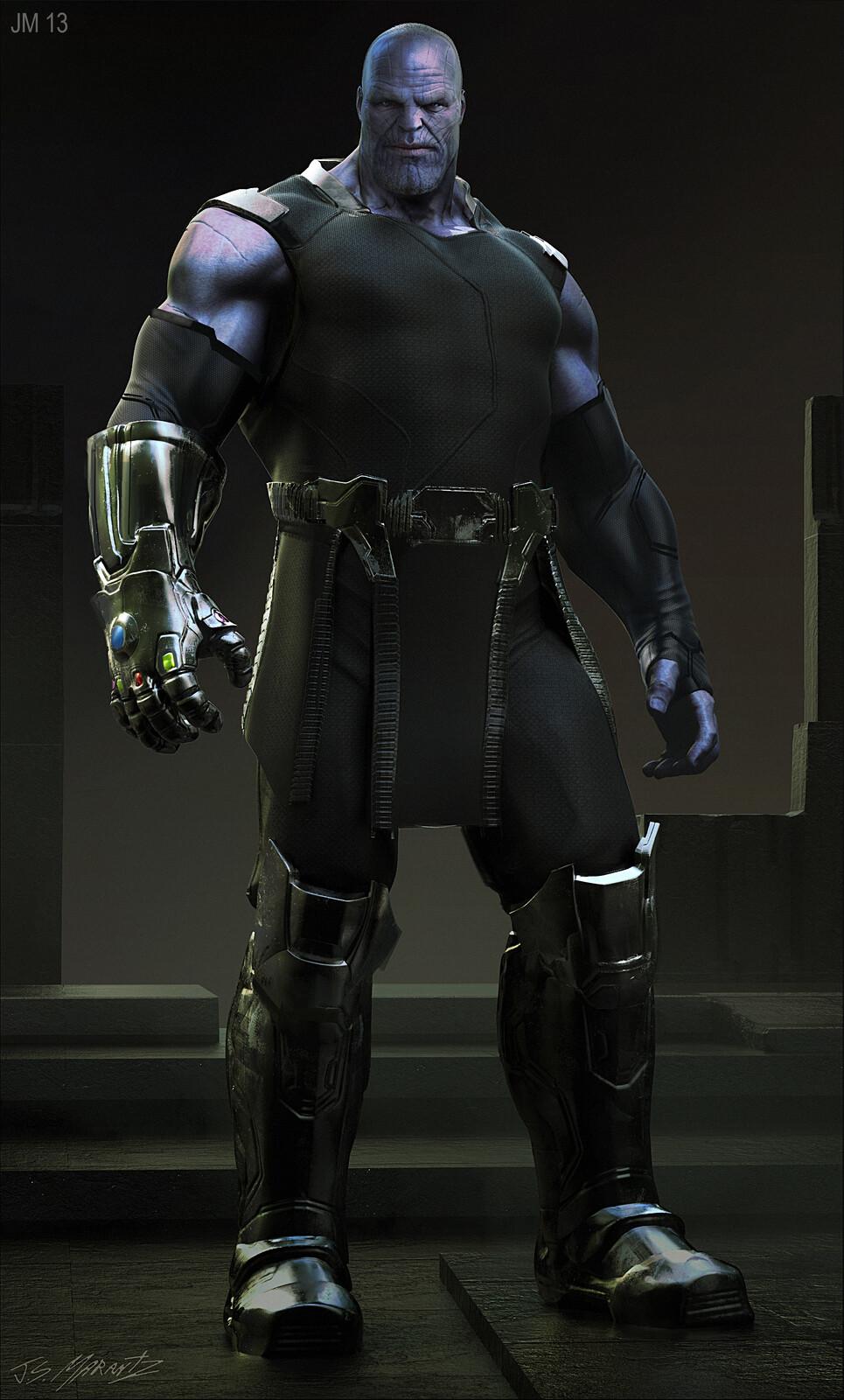 Avengers Infinity War: Thanos conceptart