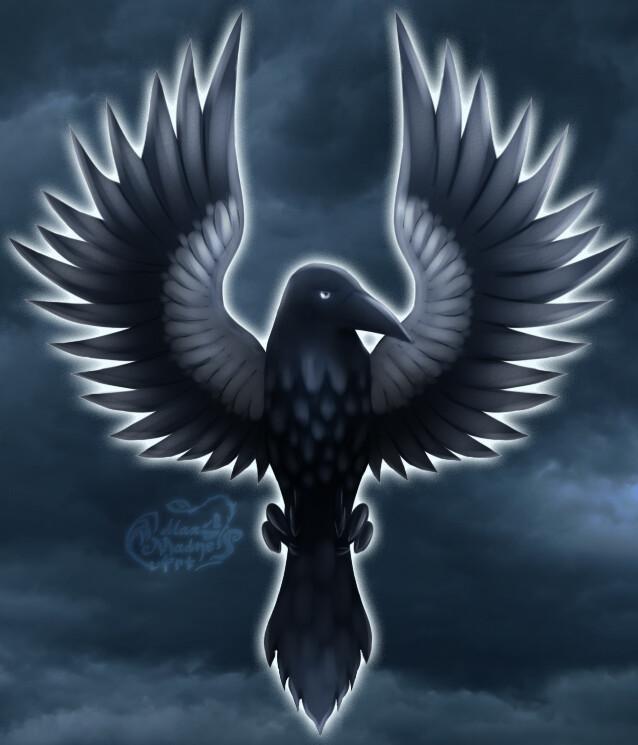 ArtStation - Crow wallpaper, Max Madness