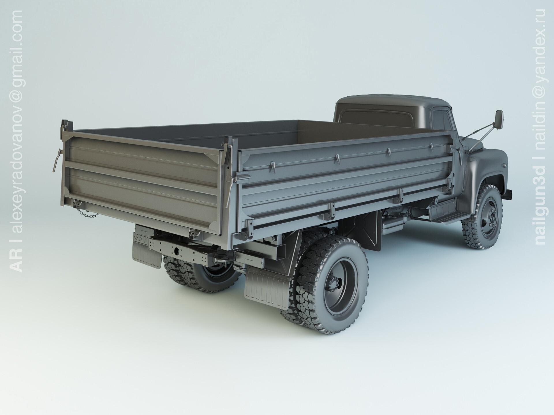 Nail khusnutdinov alg 044 003 gaz saz 3507 02 modelling 1
