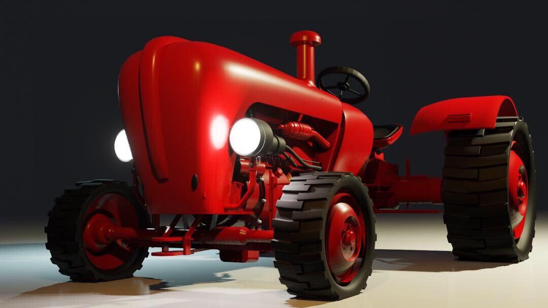 Blender Tractor
