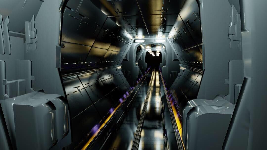 Sci-fi corridor study
