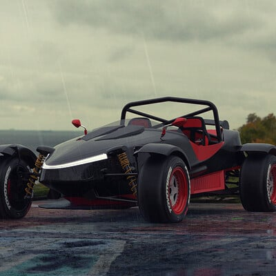 Federico zimbaldi ariel rox racer 188