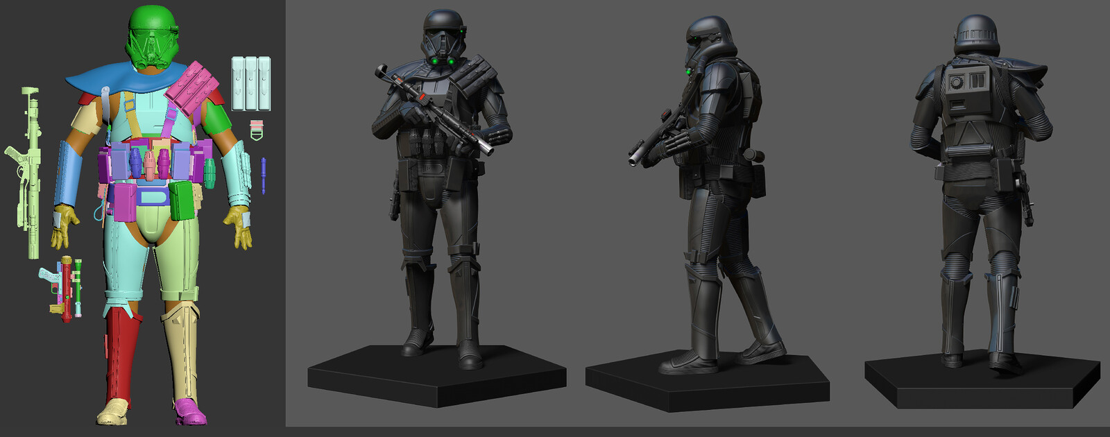 Death Trooper Combat Gear