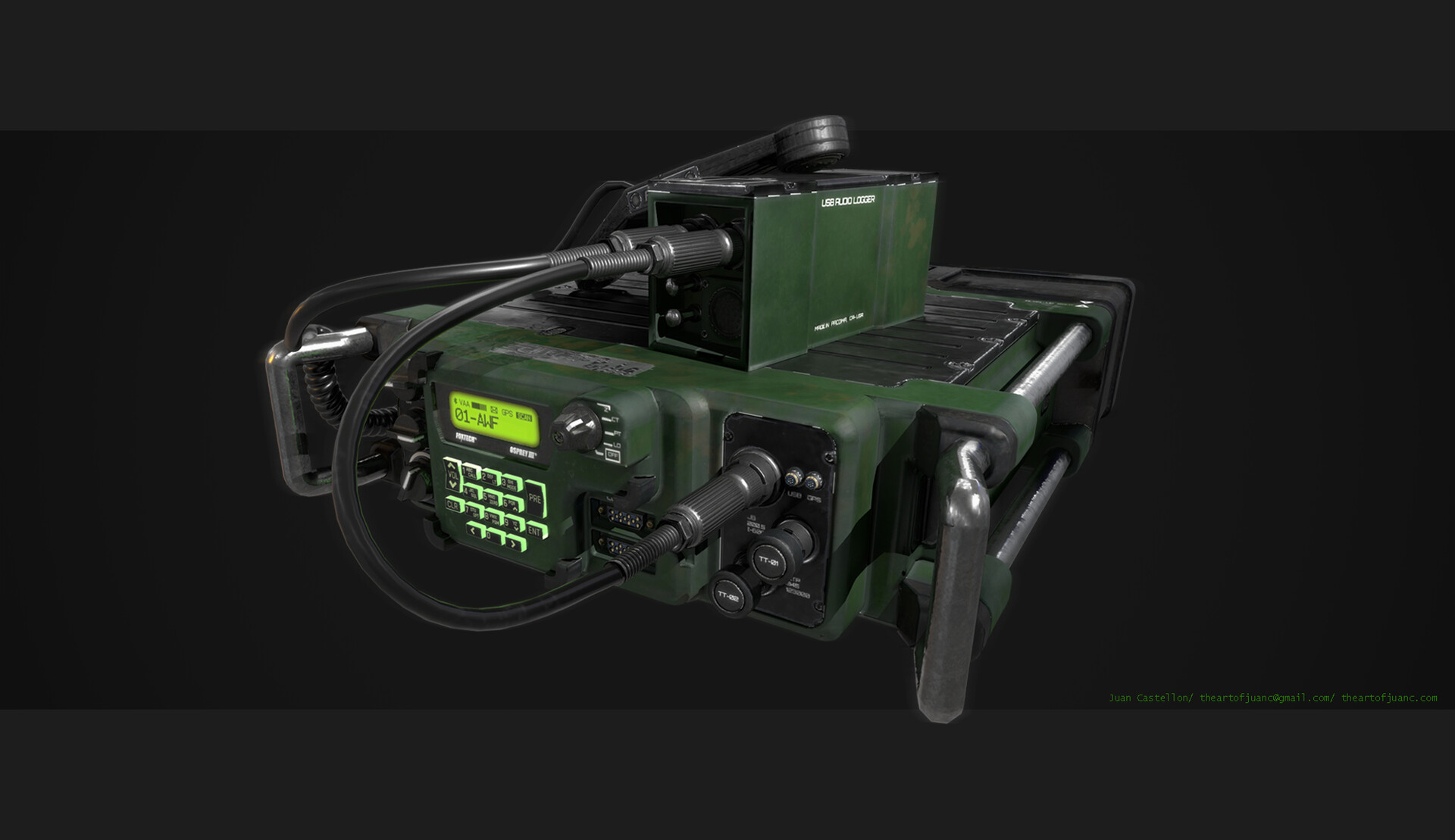 Juan Castellon - Military Radio