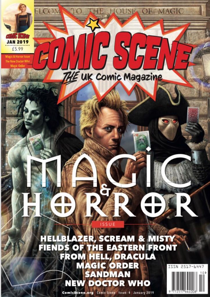 Comic Scene Magazine Cover