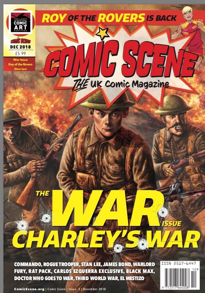 Comic Scene UK Cover
