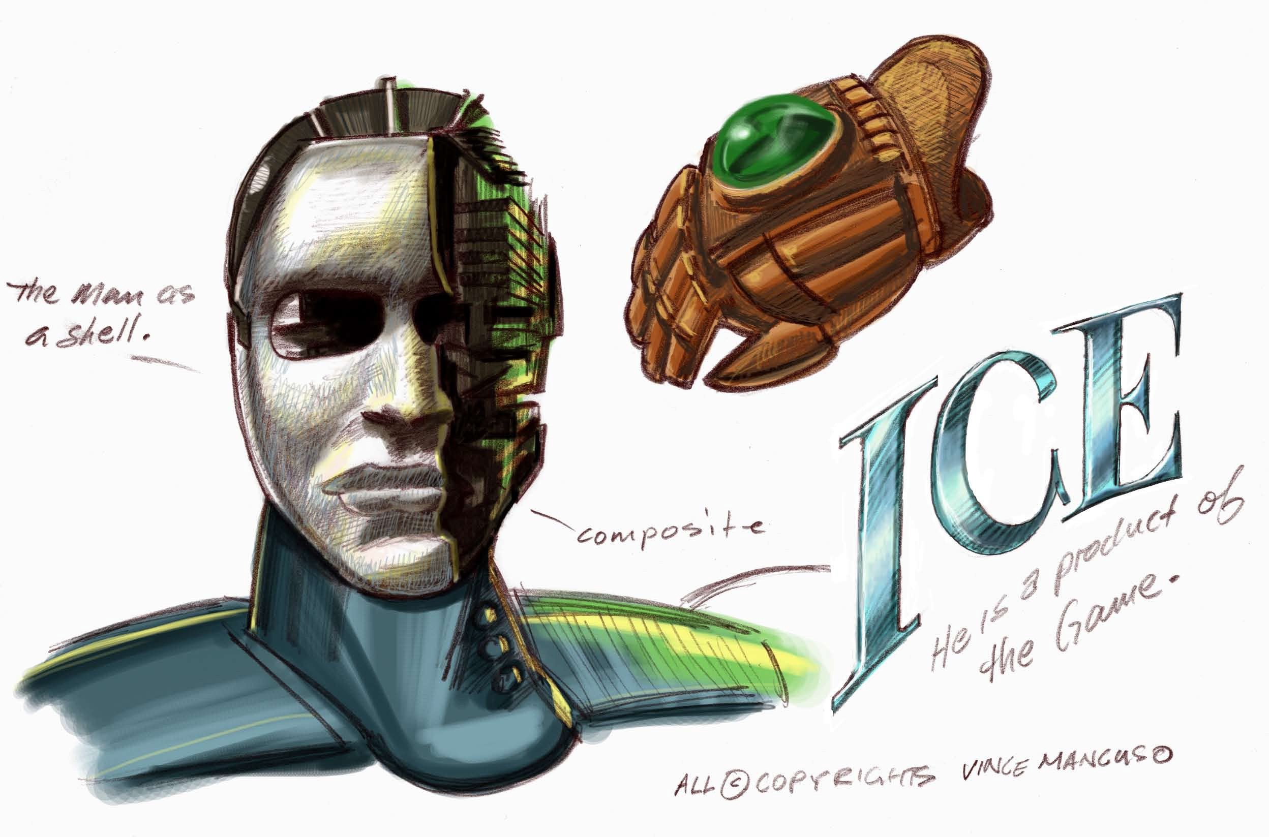Cyborg concept for ICE.