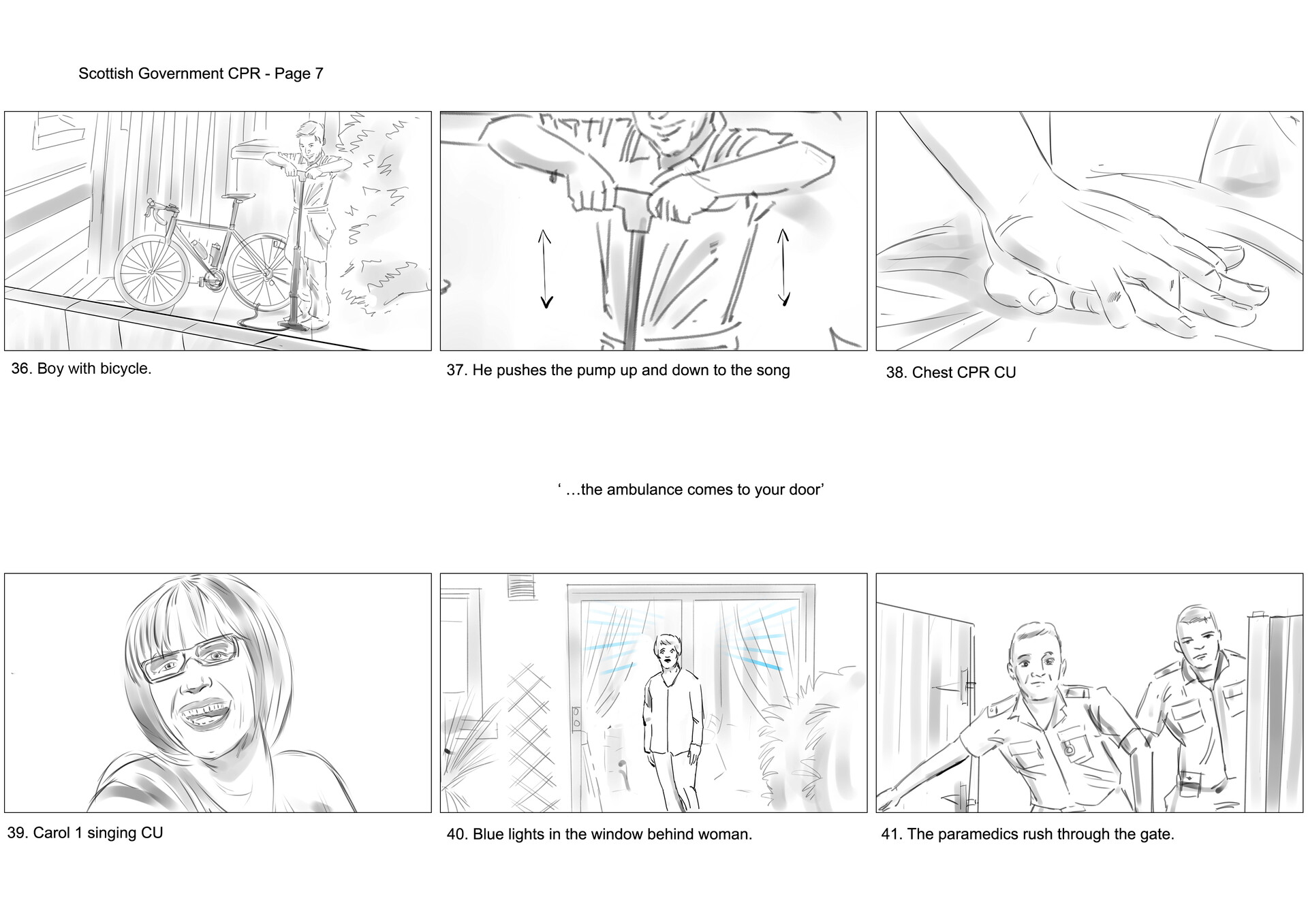 David newbigging save a life for scotland storyboards v2 7