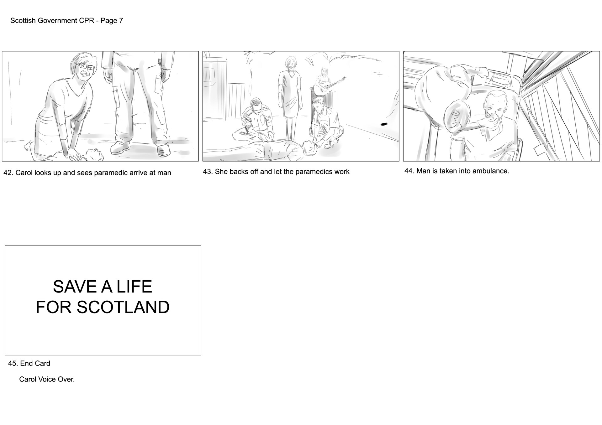 David newbigging save a life for scotland storyboards v2 8