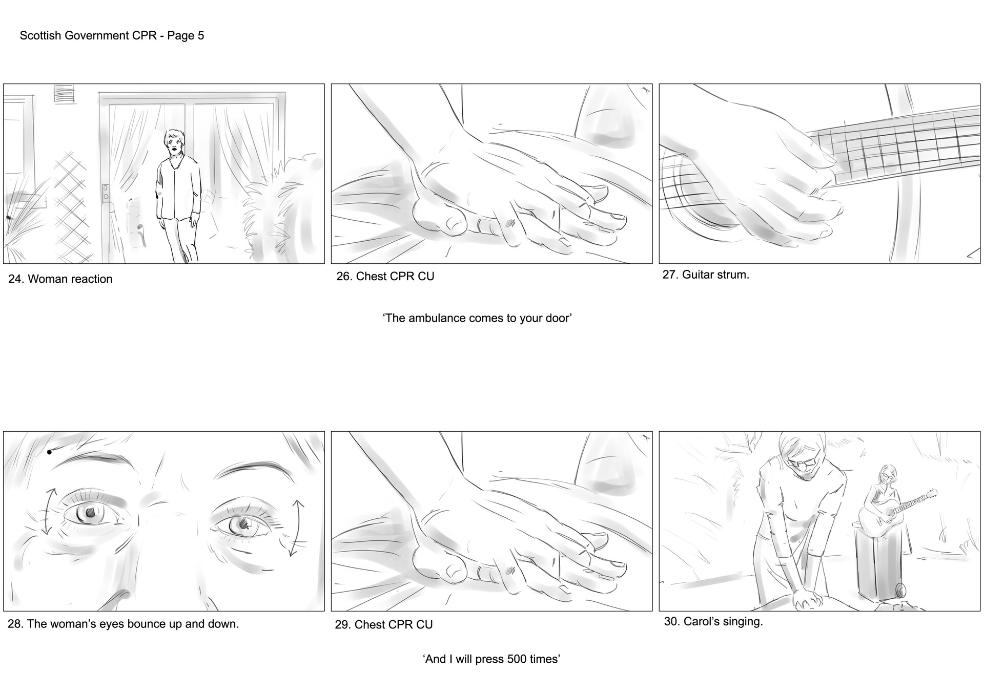 David newbigging save a life for scotland storyboards v2 5