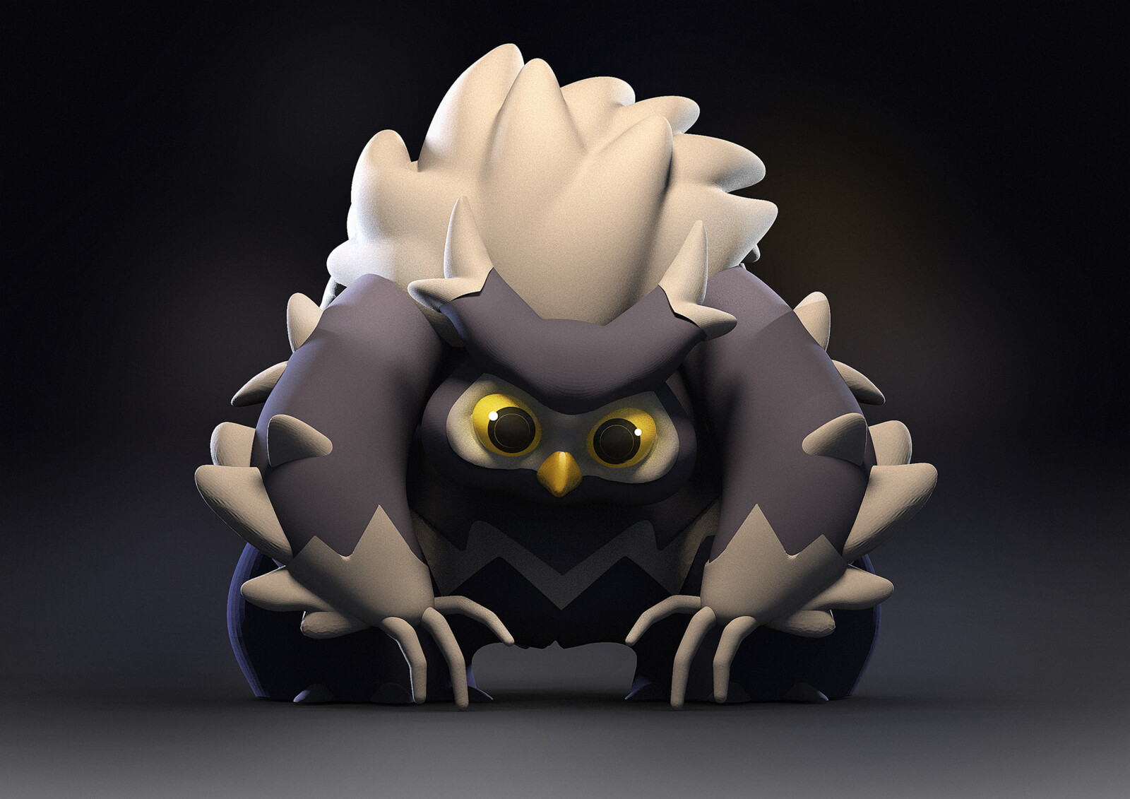 Owl Bear original concept: https://www.artstation.com/hiziripro