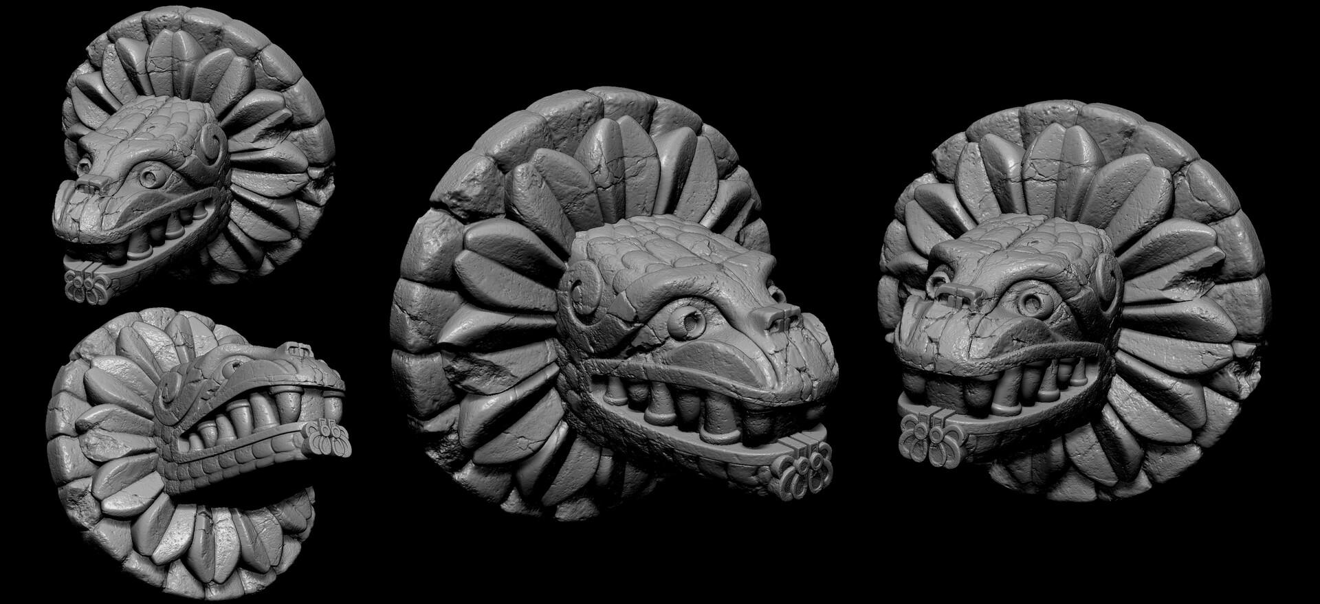 Wayne dalton aztec sculpts 001b
