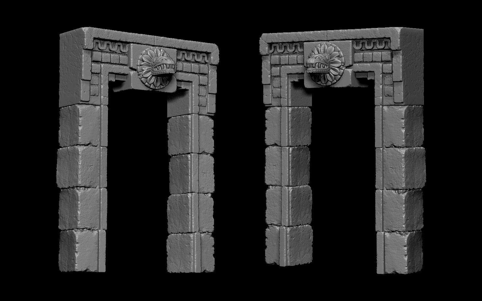 Wayne dalton aztec sculpts 003