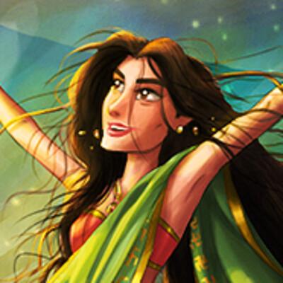 Arsalan khan princess sarayu and agnisra ga