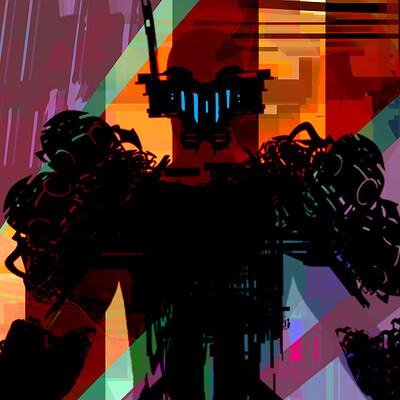 Michael budgen abstract armors 5