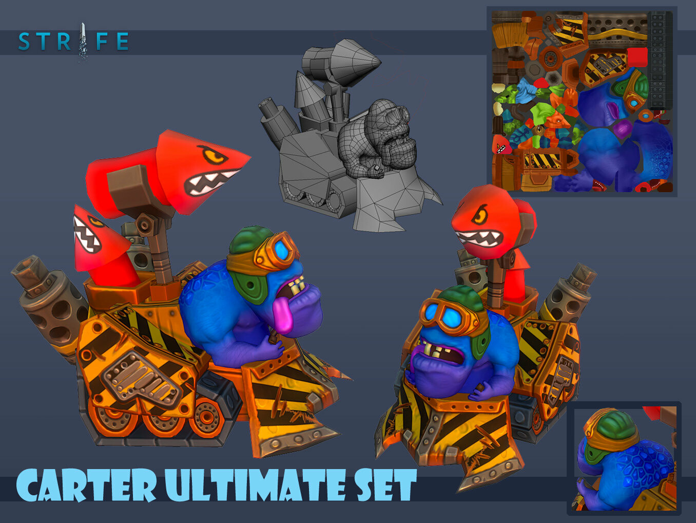 Carter Ultimate Tank Set 