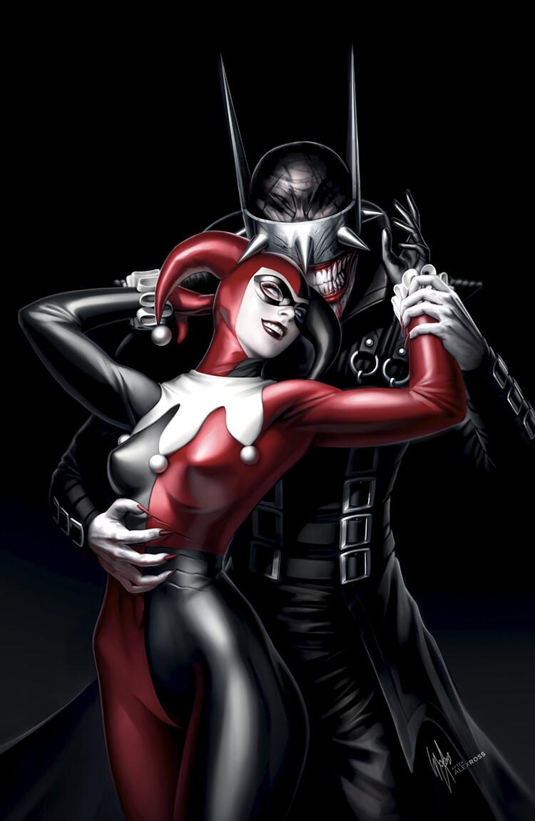 бэтмен и харли картинки конечно