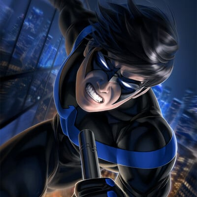 Warren louw nightwing 60 by warren louw s