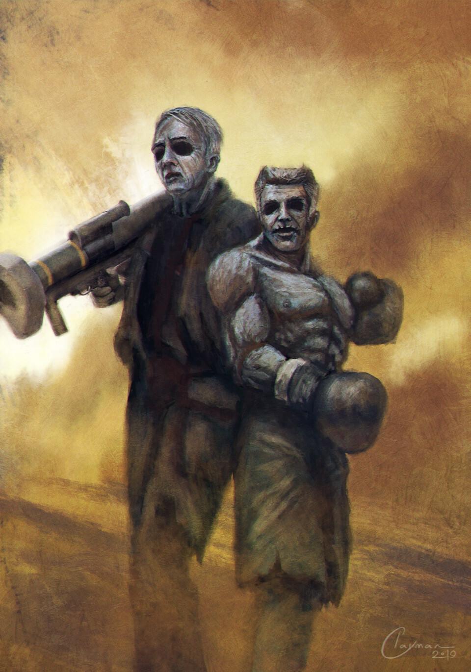 Lapid and Gantz