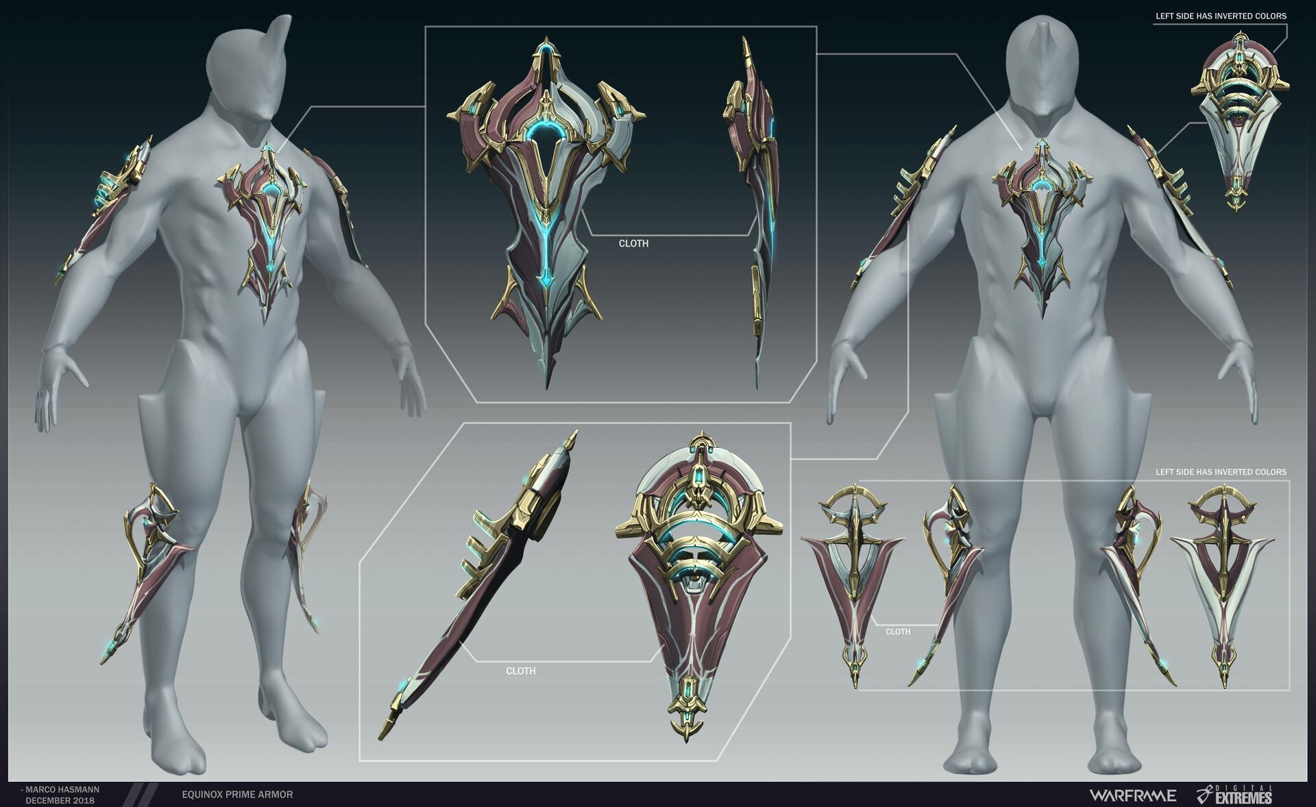 Marco hasmann equinox prime armor final