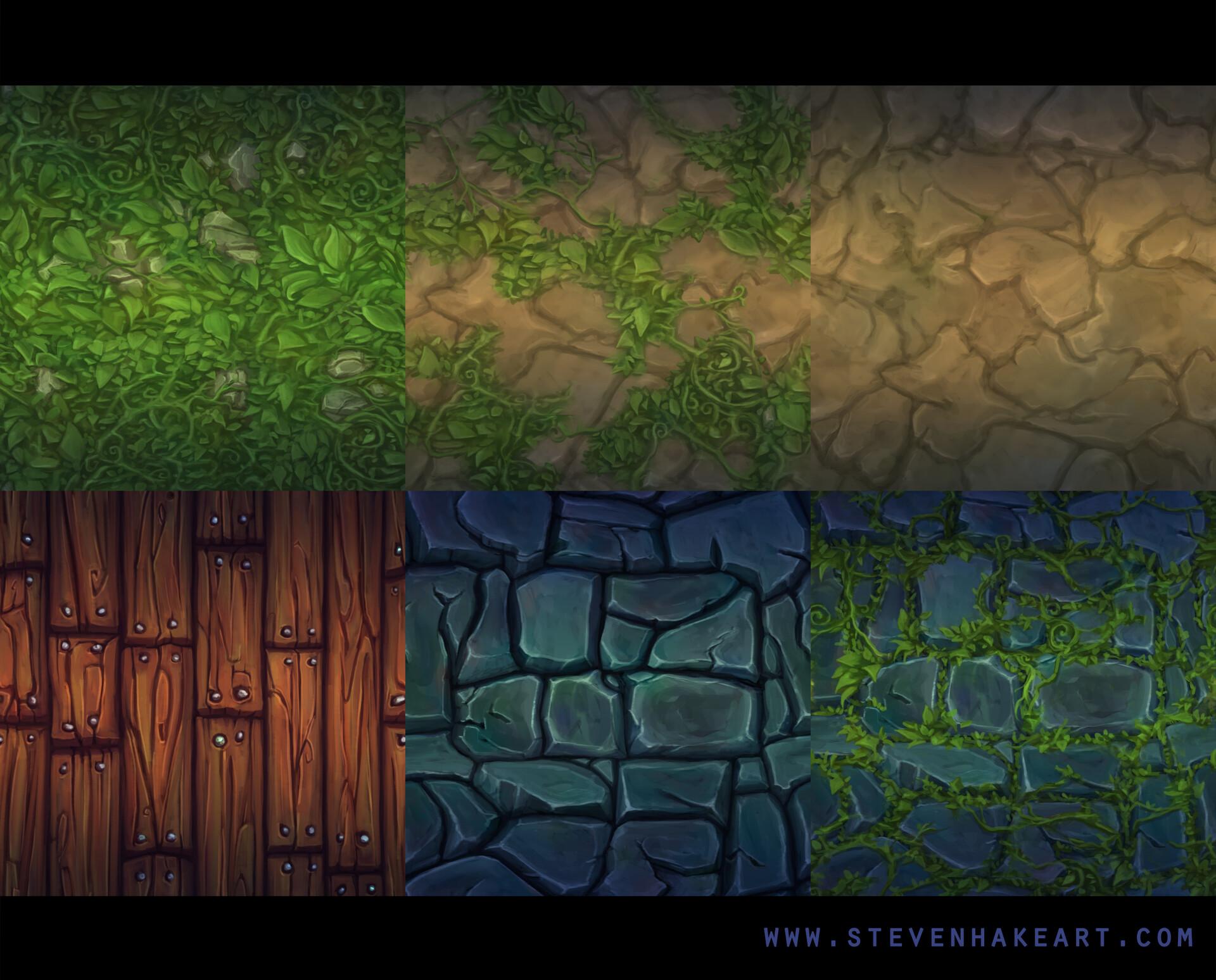Steven hake textures 2